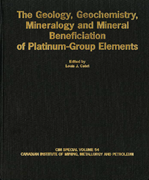 Mineral Benefication of Platinum Group Elements - SV 54