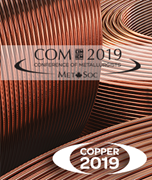 Image de Proceedings  of the 58th Conference of Metallurgists Hosting the International Copper Conference 2019