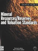 Image de Mineral Resources / Reserves and Valuation Standards SV 56 (2010) Book & PDF COMBO