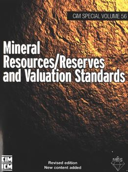 Image sur Mineral Resources / Reserves and Valuation Standards SV 56 (2010) Book & PDF COMBO